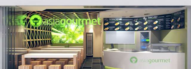 Innenarchitektur Renderings Asia Gourmet
